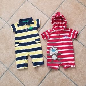 Other - Little Boys Footless Onesies